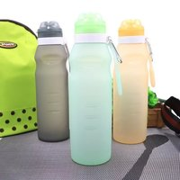 silicon water bottle