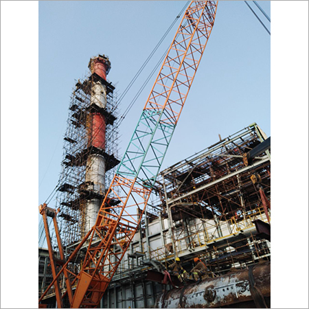 Scaffolding Rental Services In Refinery