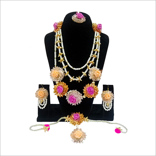 Gota Patti Necklace Set