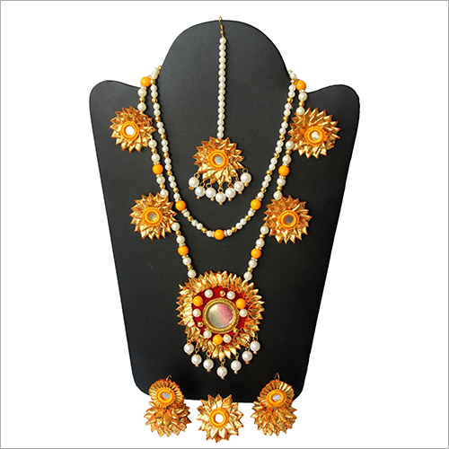 Gota Patti Wedding Jewellery Set