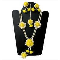 Artificial Flower Modern Necklace Set