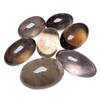Satyamani Natural Smokey Quartz Lingam
