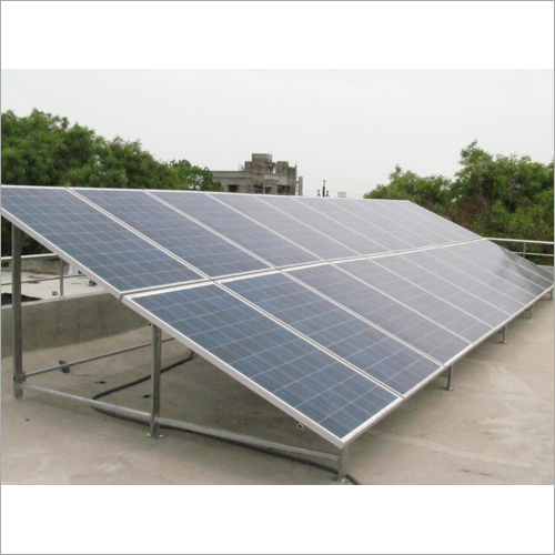 Solar Power Panel Mounting Structure