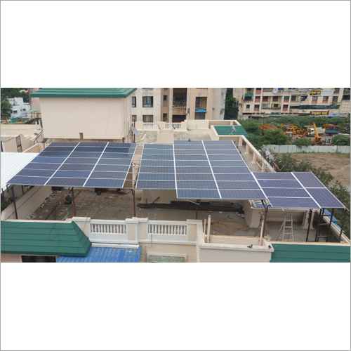 Rooftop Solar Energy Panel