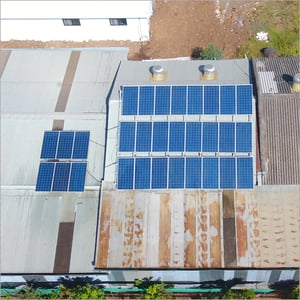 Rooftop Silicon Solar Panel