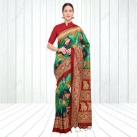 Traditional Mysore Silk Saree