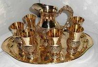 Brass Lemon Set pack of 6 Glasses