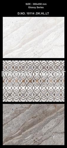 300 x 450 mm Ceramic Digital Wall Tiles