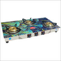 Three Burner Digital Auto Cut Gas Stove