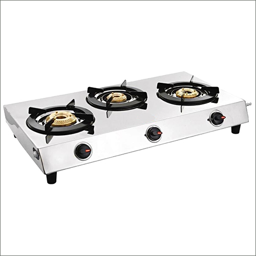 Three Burner SS Nano Gas Stove