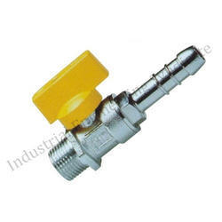 CIM 170 Gas Ball valve with in built nose nipple