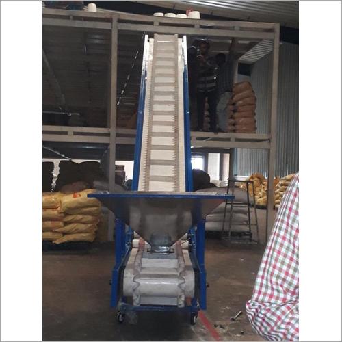Grains Handling Sidewall Belt Conveyor