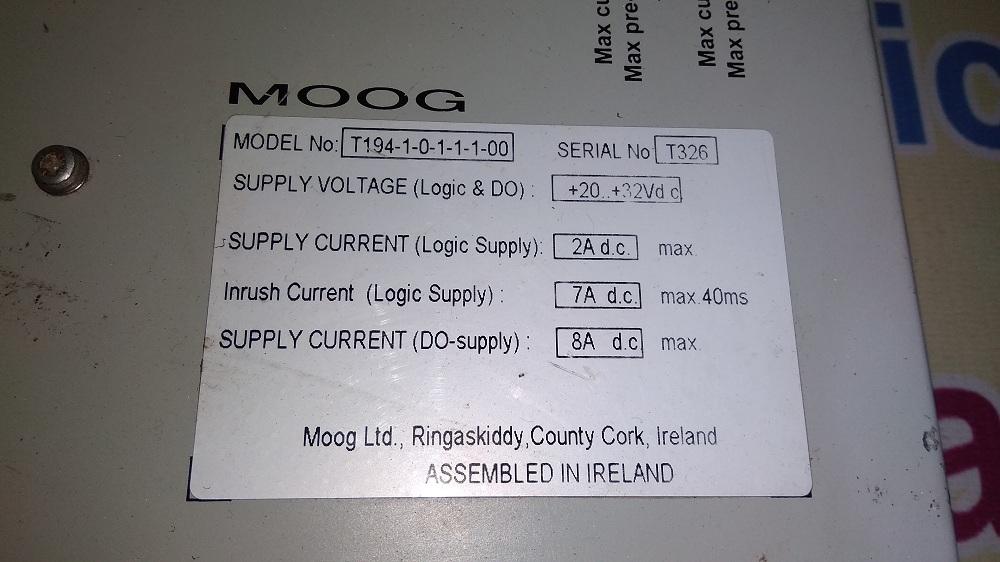 MOOG MOTION MODULE