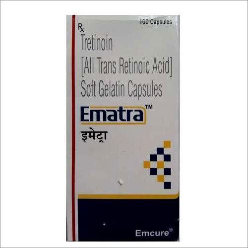 Tretinoin All Trans Retinoic Acid Soft Gelatin Capsules