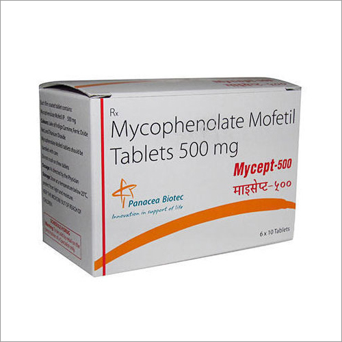 500 Mg Mycophenolate Tablets