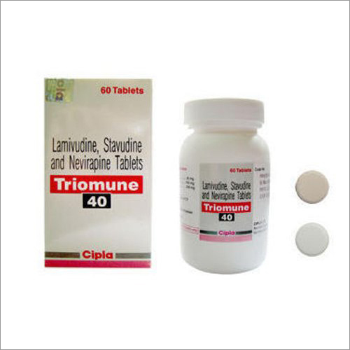 Lamivudine,Stavudine And Nevirapine Tablets