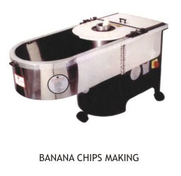 Banana Chips Cutting & Slicing Making