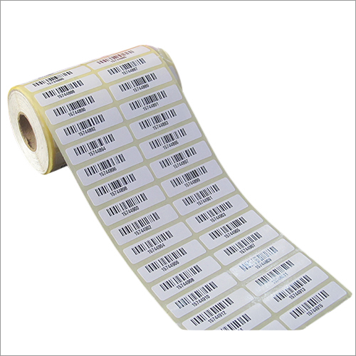 Pre Printed Barcode Label