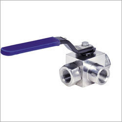 Three Way Hydraulic Ball Valve