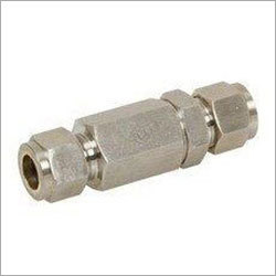 Industrial Tube Check Valve