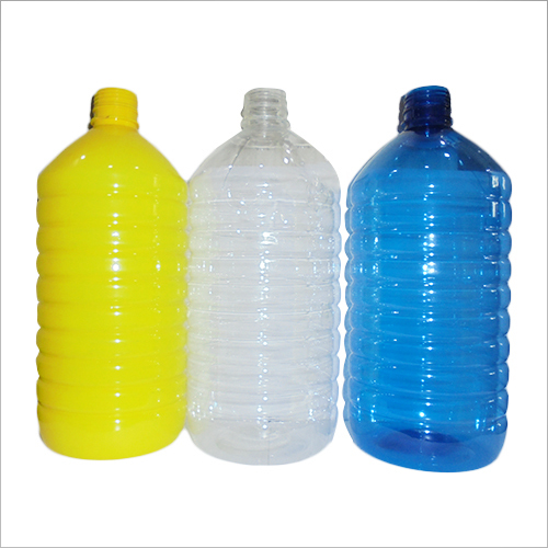 5Litre Plain Plastic Pet Bottle