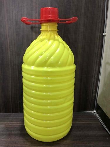 5Litre  Yellow Plastic Pet Bottle Lotus