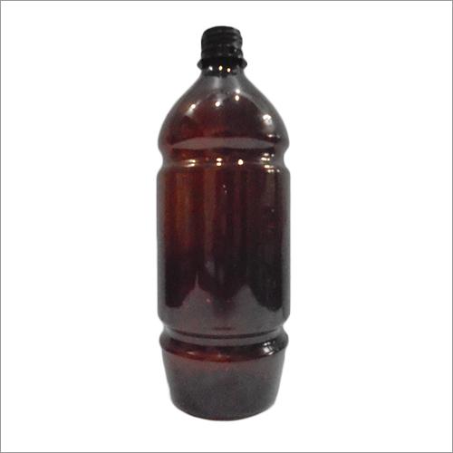 1Litre Rose Amber Plastic Pet Bottle