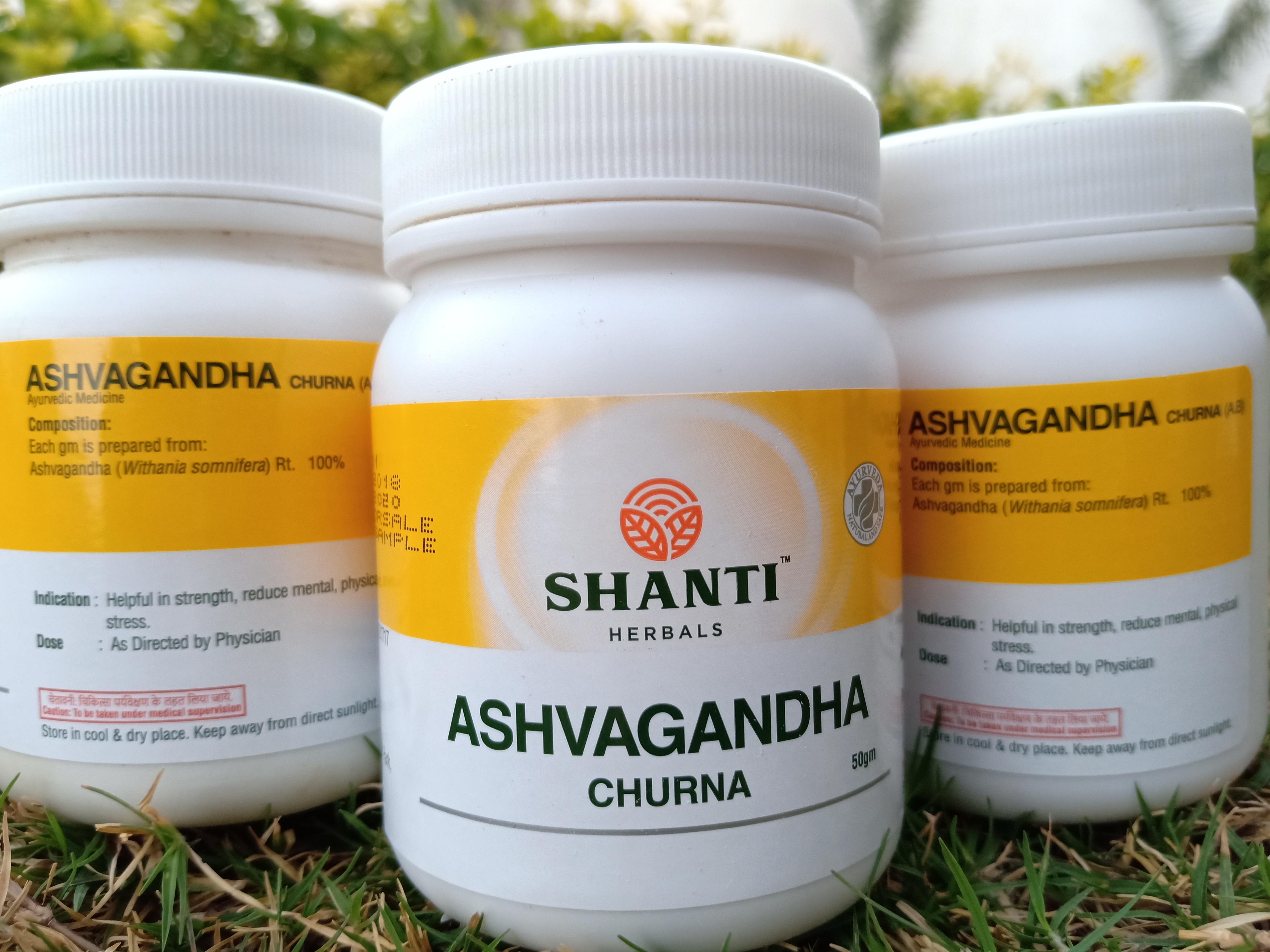 Herbal Ashwagandha Churna