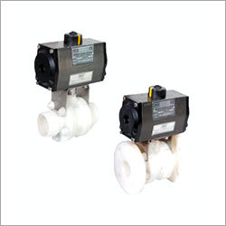 Pneumatic PP Ball Valve