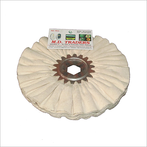 8 Inch Cloth Air flow Buffing Wheel