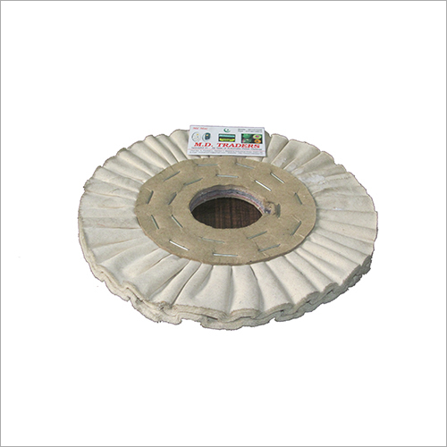 12 Inch Air Flow Cloth Buffing Wheel