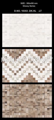 3D Ceramic Wall Tile