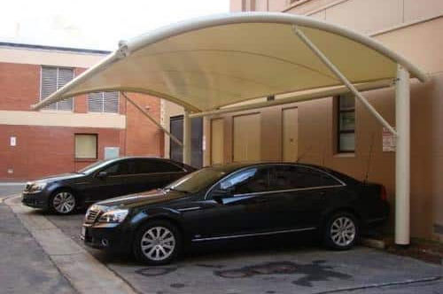 Car parking sheds