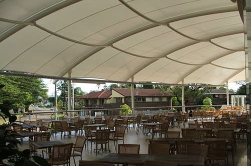 Cafeteria Tensile Structures Canopy