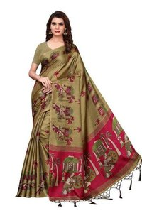Kalamkari Printed Saree