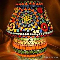 SPLENDID MOSAIC SHAPE TABLE LAMP