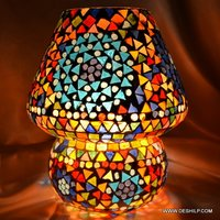 NEW DESIGNER MOSAIC FINISH TABLE LAMP