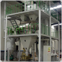 Computerized Cattle Feed Plant
