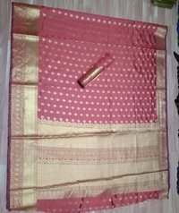 Kanjivaram Pure Cotton Saree