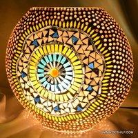 DECOR MOSAIC GLASS TABLE LAMP
