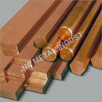 Copper Hexagon Rod