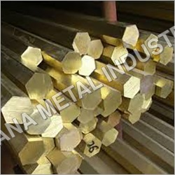 Brass Hexagon Rod