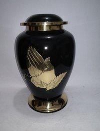 Praying Hand Brass Cremation Urn