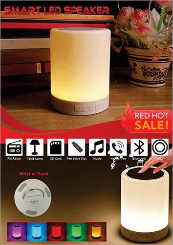 Touch LED Lamp Speaker