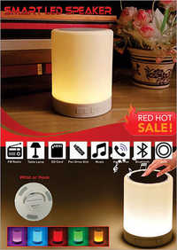 Touch LED Lamp Speaker