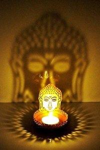 Golden Tea Light Holder