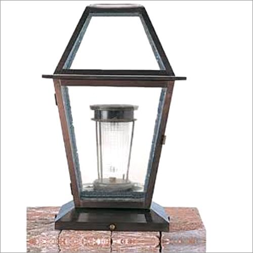 Pillar Wall Lamp Solar Outdoor Light