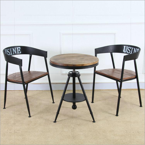 Restaurant Coffee Table With Chair