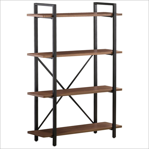 4 Tier Wooden Bookshelf