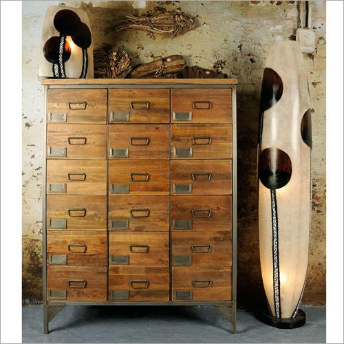 18 Drawer Wooden Chest
